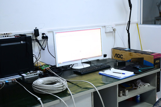 50 meter signal interference test equipment